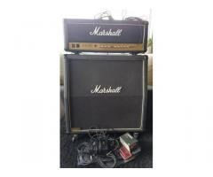 Originele Marshall JCM 900 Top+Cab 100 Watt 4x12 /